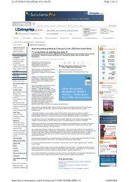 Page 1 sur 2 La révolution du parking sera sans fil 14/09/2009 http ...