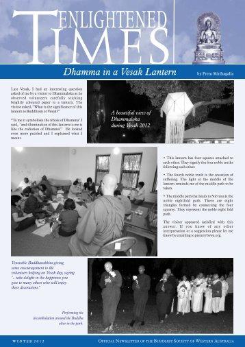 here - Media.bswa.org - Buddhist Society of Western Australia