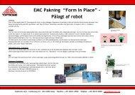 """EMC Pakning """"Form In Place"""" – Pålagt af robot - Toptronic A/S"""