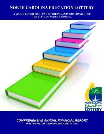 2011 CAFR - North Carolina Education Lottery