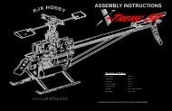 ASSEMBLY INSTRUCTIONS - BaroneRosso.it