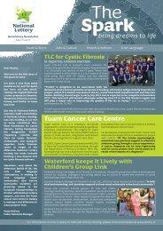 Tuam Cancer Care Centre - National Lottery