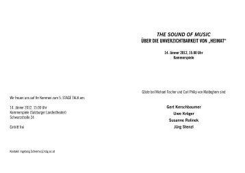 """the sound of music über die unverzichtbarkeit von """"heimat"""""""