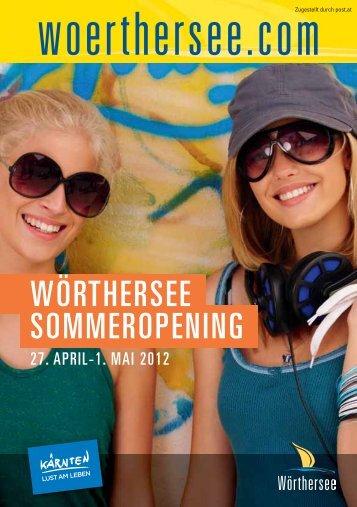 wörthersee sommeropening 2012 - Hotel Schloss Seefels