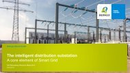 The intelligent distribution substation - Bilfinger