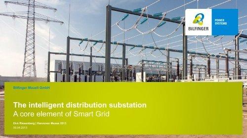 The intelligent distribution substation - Bilfinger