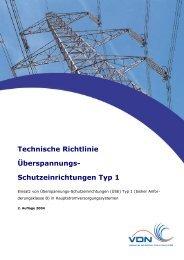 Technische Richtlinie Überspannungs ... - SWE Netz GmbH
