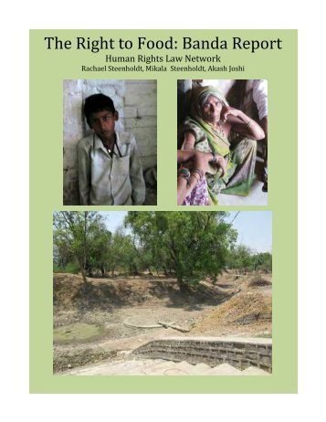 The Right to Food: Banda Report - Human Rights Law Network