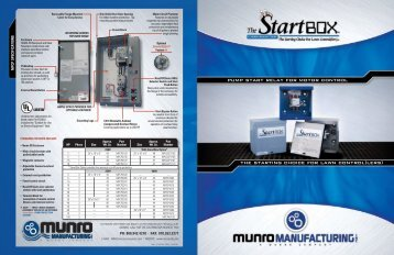 StartBox Brochure - Munro Companies