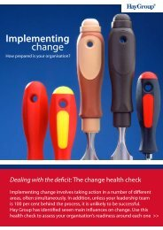 Implementing change - Management and Business Studies Portal