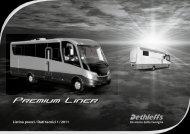 Listino prezzi / Dati tecnici 1 / 2011 - Dethleffs