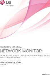 Owner's Manual - LG B2B