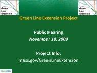 DEIR Public Hearing Presentation - November 18, 2009