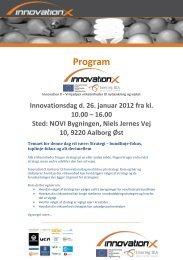 Program - Innovation X