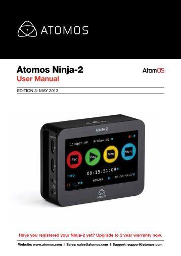 Ninja-2 – User Manual - Atomos