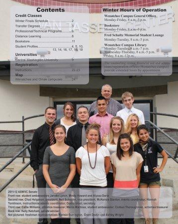 Contents - Wenatchee Valley College