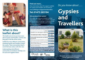 2011-11-10 Mythbusting Gypsy Leaflet web - Suffolk County Council