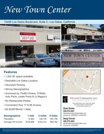 New Town Center - Prime Commercial, Inc