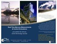 Real-Time Mercury Measurements & Control ... - Ohio Lumex Co.