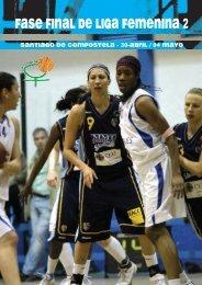 fase final de liga femenina 2 - Federación Española de Baloncesto