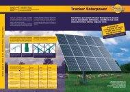 Tracker Prospekt formato PDF - Solarpower GmbH