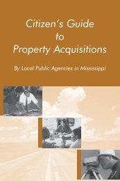 Citizen's Guide to Property Acquisitions by Local Public Agencies in ...