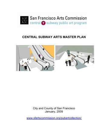 central subway arts master plan - San Francisco Arts Commission