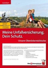 Meine Unfallversicherung. Dein Schutz. - Oberösterreichische ...