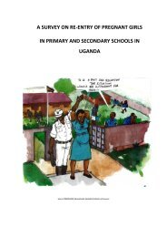 A survey on re-entry of pregnant girls in primary and secondary ...