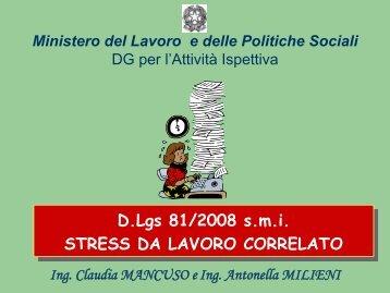 Stress da Lavoro Correlato - Forges