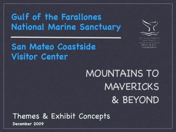Powerpoint from GFNMS presentation - Monterey Bay National ...