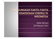 Hotel Akmani 29 Februari 2012 - IESR