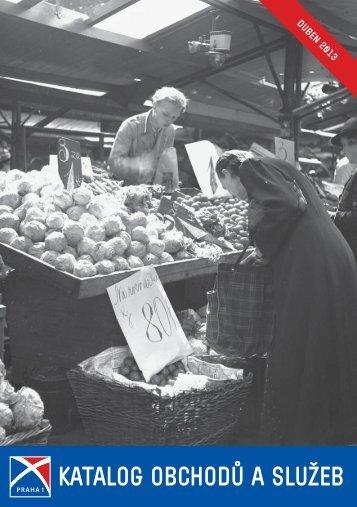 Katalog obchodů a služeb - Praha 1