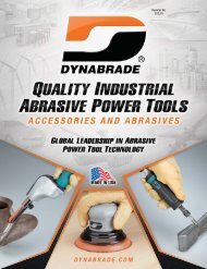 Air-Powered Abrasive Finishing Tool - Dynabrade Inc.