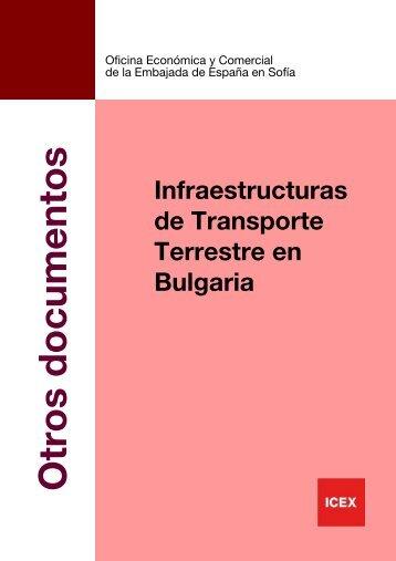Infraestructuras de Transporte Terrestre en Bulgaria - Instituto Vial ...