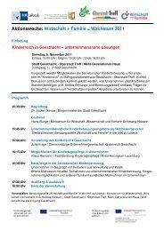 Einladung Aktionswoche Geesthacht 8. Nov. 2011 mit Anmeldung_Ur