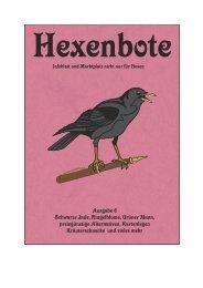 Hexenbote Ausgabe 6 - Bruno Schneider