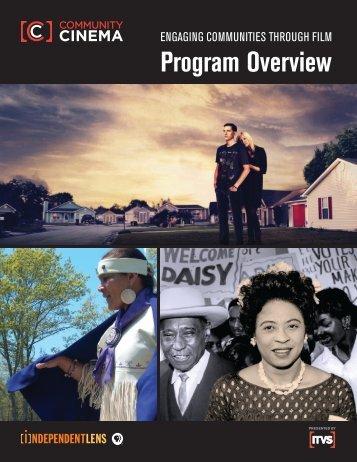 Community Cinema Overview - ITVS