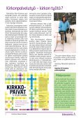 Kirkonpalwelija - Kirkonpalvelijat ry - Page 2