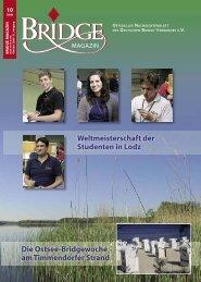 Oktober 2008 - Deutscher Bridge-Verband e.V.
