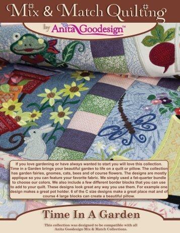 Time In A Garden - Anita Goodesign