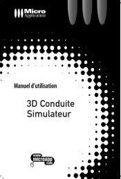 3D Conduite Simulateur - Micro Application