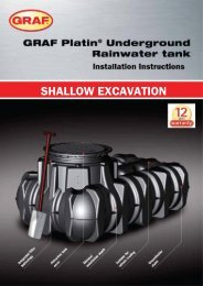 Graf Platin Underground Rainwater Tank | Reece