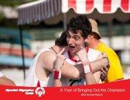 2012 Annual Report - Special Olympics Georgia
