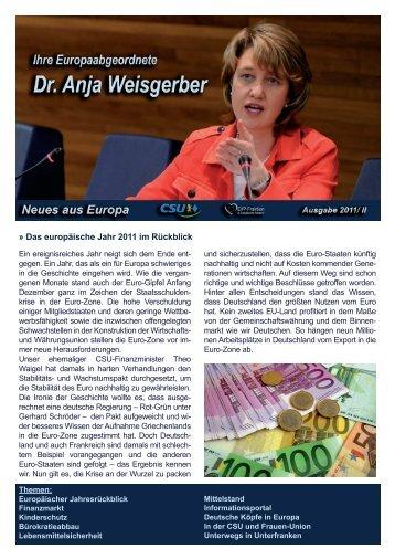 können Sie den gesamten Newsletter herunterladen - Anja ...