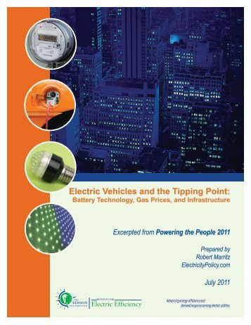 Electric Vehicles and the Tipping Point: - Edison Foundation