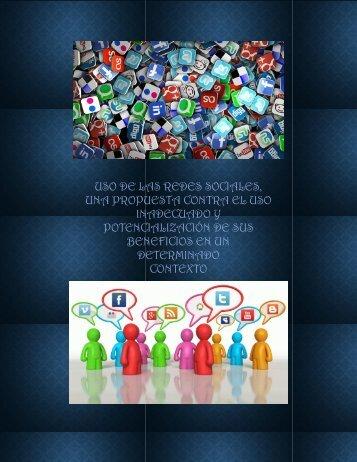 USO DE REDES SOCIALES.