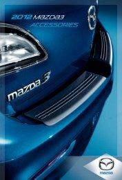 2012 M{zd{3 accessories - Mazda