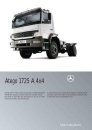 Atego 1725 A - 42 4x4