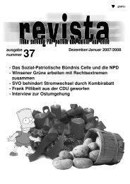 - Das Sozial-Patriotische Bündnis Celle und die ... - Buntes Haus Celle